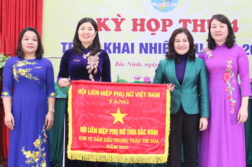 Hội LHPN tỉnh: Năm 2018 phát huy tinh thần đoàn kết, sáng tạo, triển khai thực hiện nhiều Đề án lớn