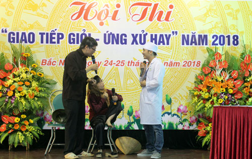"Bệnh viện Đa khoa tỉnh: Hội thi ""Giao tiếp giỏi - Ứng xử hay"" năm 2018"